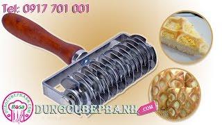 Hướng dẫn tạo hình bánh dừa lưới