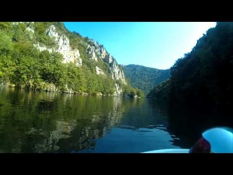 """WELCOME TO ROMANIA-,,CAZANE""""-BOAT RIDES ON THE DANUBE"""