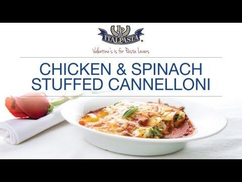 Chicken Stuffed Cannelloni - Italpasta Recipe