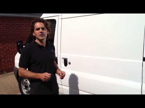 What is a Slamlock? Locks 4 Vans T Series Van Locks demonstrated and explained