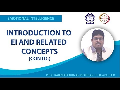 Introduction to EI and Related Concepts (Contd.)