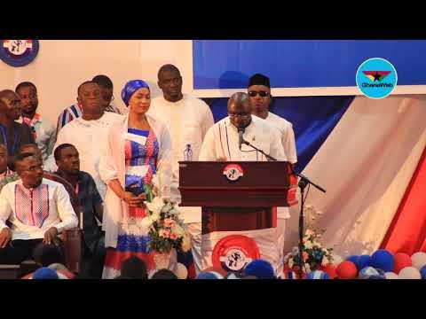 Bawumia's full speech at NPP's Delegates Conference in Cape Coast
