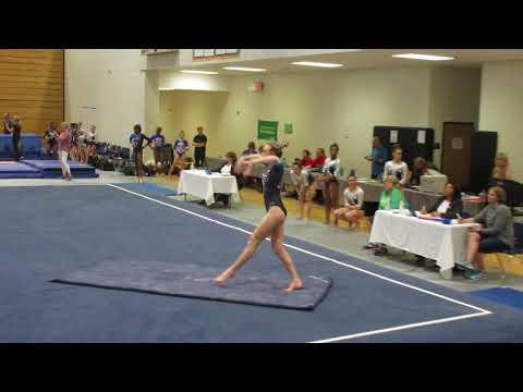 Caroline Versluis Gymnastics Floor Level 10 Georgia State Meet 18 Mar 2018