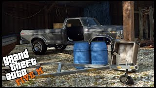 GTA 5 ROLEPLAY - RARE FORD TRUCK BARN FIND - EP. 494 - CIV