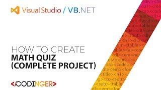 VB.NET - Math Quiz (Complete Project)