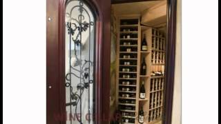 Custom Wine Cellars Chicago Illinois White Under Staircase Project