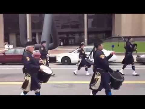 131st Cleveland Police Academy Graduation Day: March to Cit