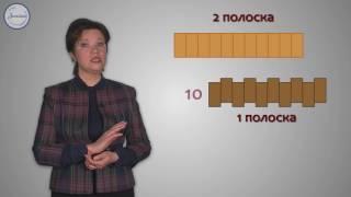 Математика 3 Сравнение площадей фигур с помощью мерок