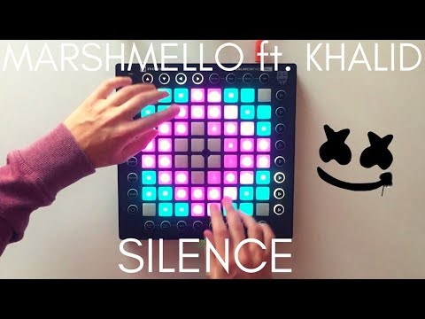 Marshmello ft Khalid - Silence  Launchpad Pro Cover