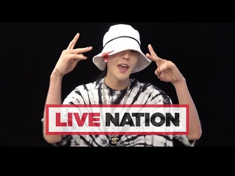 A Message From G-DRAGON To UK Fans | Live Nation UK