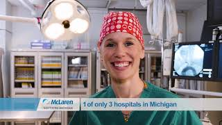 McLaren Northern Michigan - Named Top 50 Heart Hospital video thumbnail