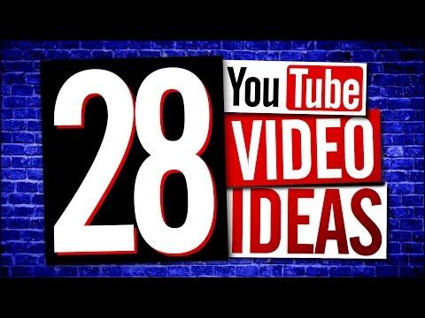 YouTube Video Ideas