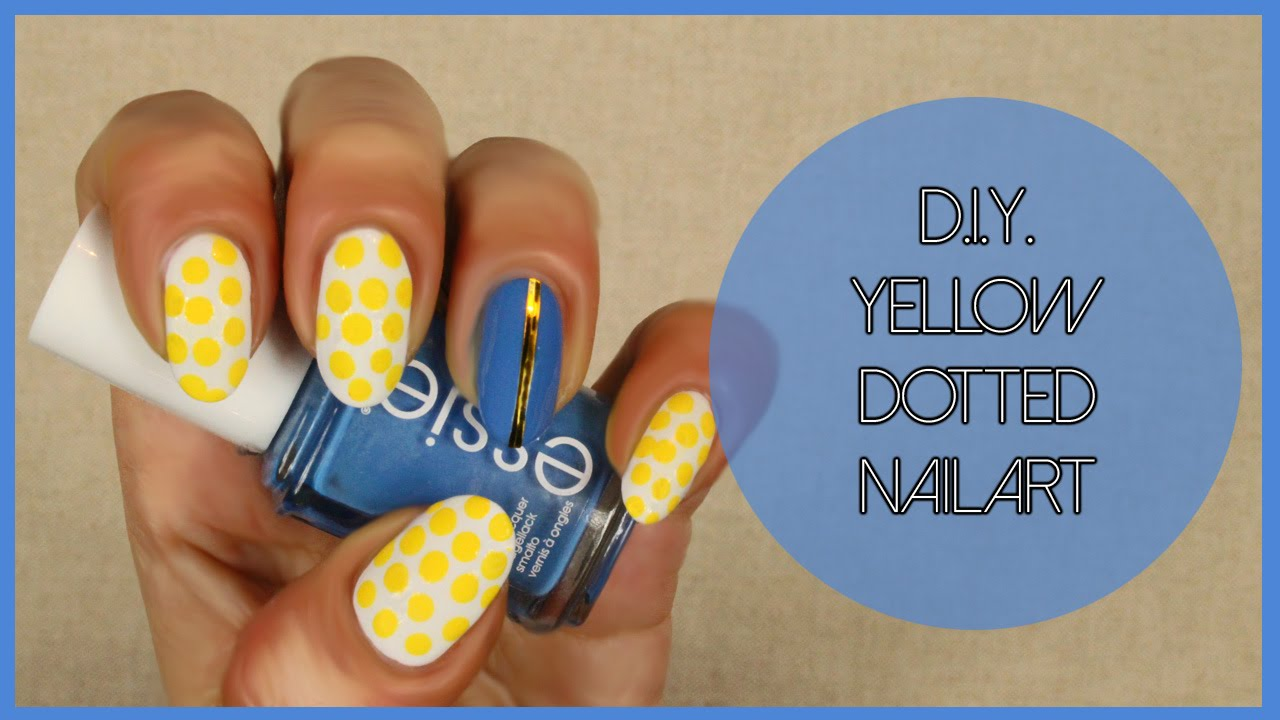 how to make yellow nails white
