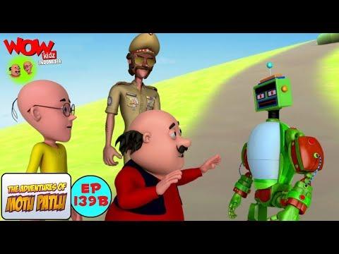Robot Pendeteksi Kebohongan - Motu Patlu dalam Bahasa - Animasi 3D Kartun
