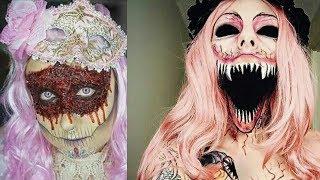 EXTREME Halloween Makeup Tutorial #5