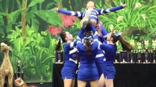 Hunters Cheerleading Senior Level 3 Group Stunt