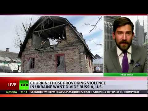 Those behind recent violence in Ukraine don t want US Russian relations to improve - Churkin to RT