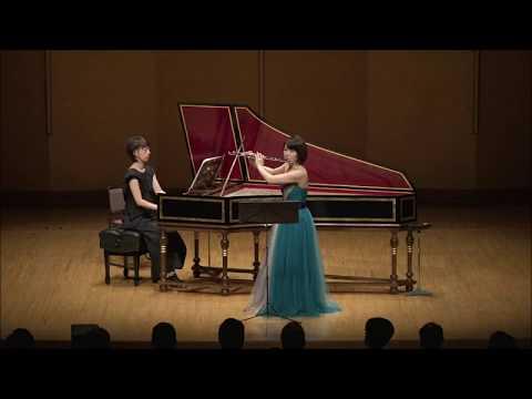 Greensleeves Variations/ グリーンスリーブス変奏曲 (Flute/ Yoshie Ueno, Cembalo/ Mayako Sone)