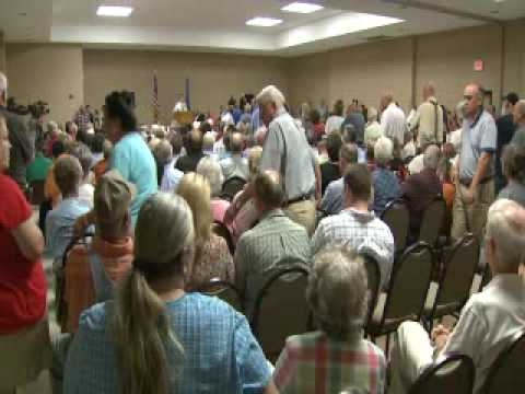 OETA Story on Congressman Dan Boren Townhall Meeting aired 08/18/09
