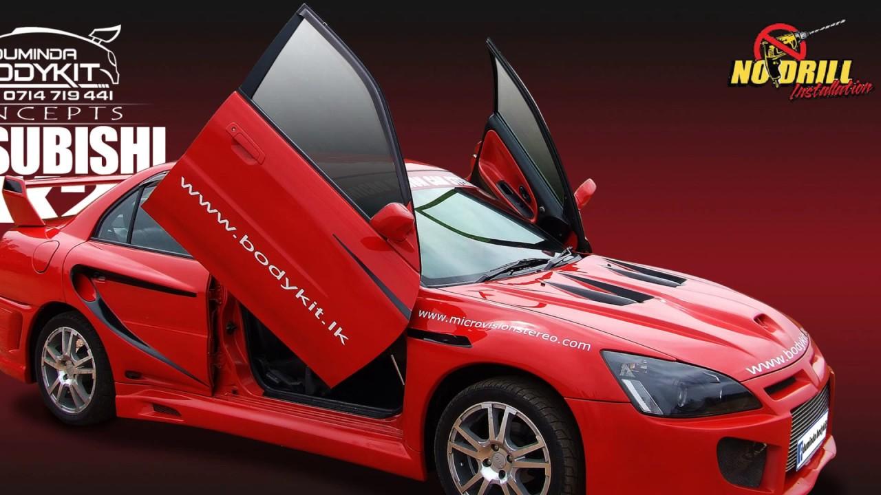 Mitsubishi body kit By Duminda Bodykit