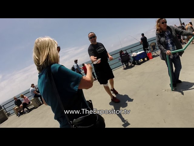 Hand to Hand Combat at Huntington Beach (an excerpt)