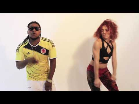 AMASS-T Queen lady (DANCEHALL LATINO COLOMBIA) Clip Official best song