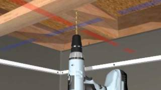 HG Grid Suspended Ceiling Installation