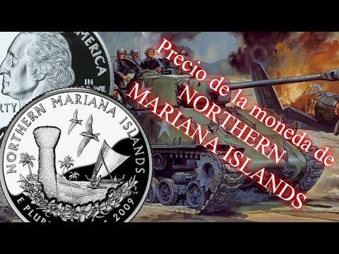 Cuarto de dólar de Northern Mariana Islands - Precio y detalles- (Distritos y territorios) Nº6