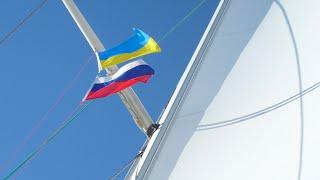 Обучение украинско-российского экипажа в школе Яхт Дрим