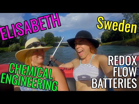 REDOX FLOW BATTERIES with Elisabeth a FEMALE CHEMICAL ENGINEER from Sweden // Women in STEM Fields