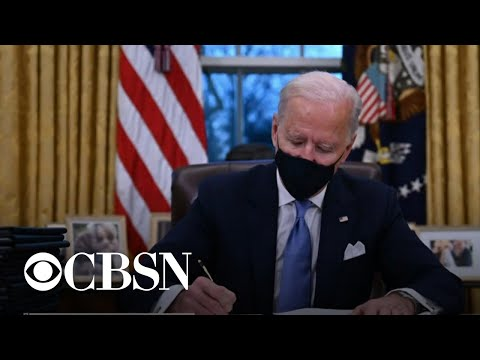 Biden wastes no time getting to work on his legislative agenda, but there's a lot of work to be d…