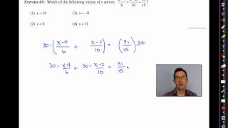 Common Core Algebra II.Unit 10.Lesson 12.Solving Fractional Equations