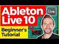 ABLETON LIVE 10 Beginners Tutorial | FREE Sample Pack