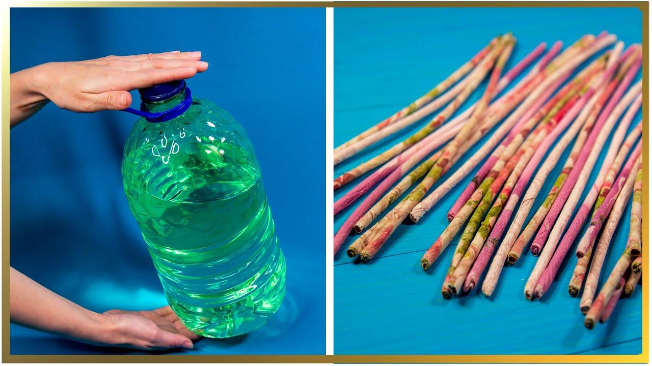 Idee genială de reciclare a pet-ului. Transformă în obiect nou!