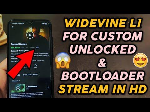 Widevine L1 Certificate for Custom ROM | Redmi Note 7 Pro | Redmi Note 7 |  Netflix HD Stream, Yess!!