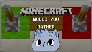 Thicc Pooki or Slap a Lady? | Minecraft Would you Rather!