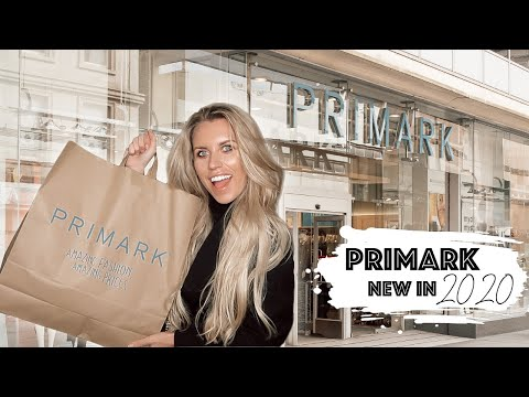 PRIMARK HAUL WHATS NEW IN JANUARY 2020 SHOPPING VLOG | Freya Farrington