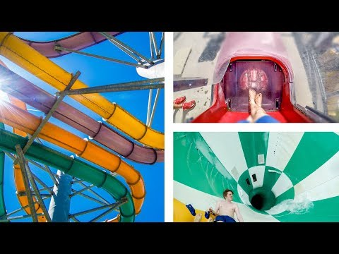 GIANT WATERPARK RESORT: Wilderness Resort, Wisconsin Dells (All Parks POV!)