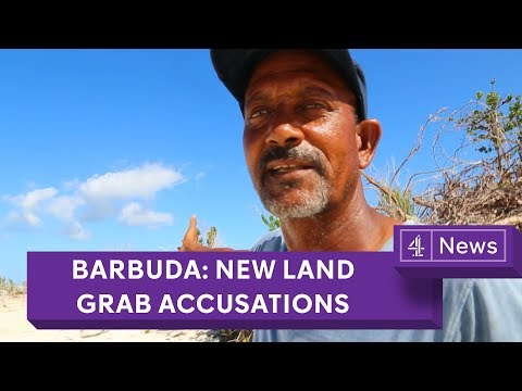 Barbuda: new land grab accusations