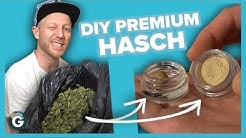 Wie man Premium Haschisch HERSTELLT