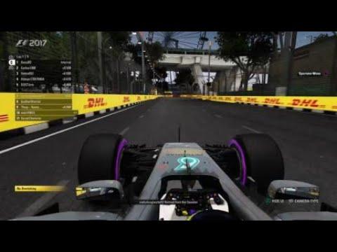 F1™ 2017 Singapore incident with Codydouglasdw12
