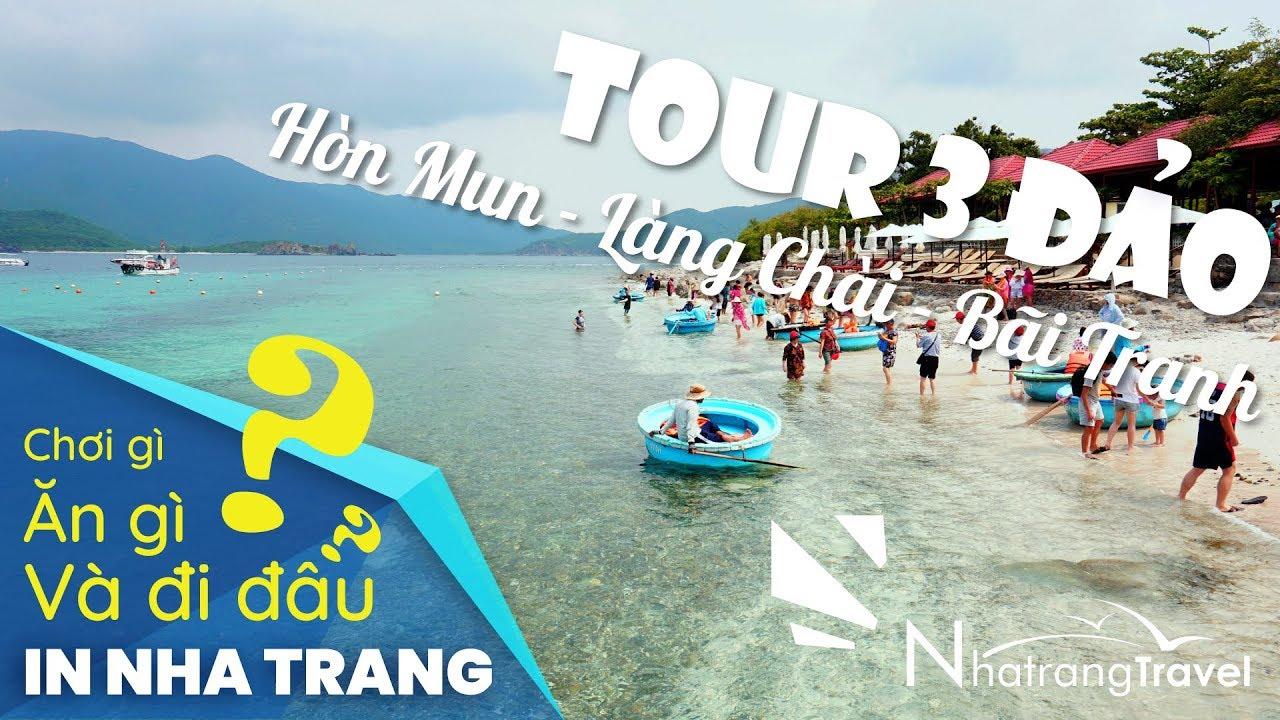 Tour 3 Đảo Nha Trang 【Review 2020/Thổ Địa Nha Trang】