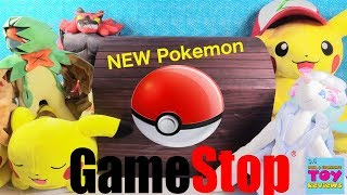 Pokemon Training Center GameStop Toys Figures Plush Cards Haul Unboxing   PSToyReviews