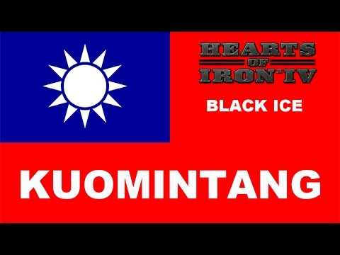 Hearts of Iron IV: Black ICE - Kuomintang (1)