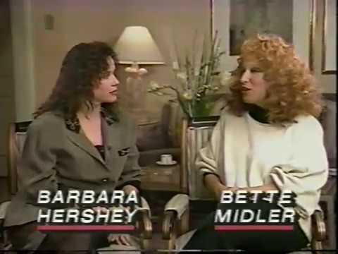 Barbara Hershey     ' The Today  ' 1989