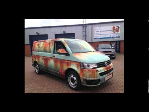 rat look folierung ratten style vw t5 bus tuning by clyde. Black Bedroom Furniture Sets. Home Design Ideas