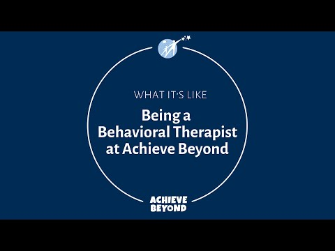 Why it's great to be a Behavioral Therapist at Achieve Beyond!