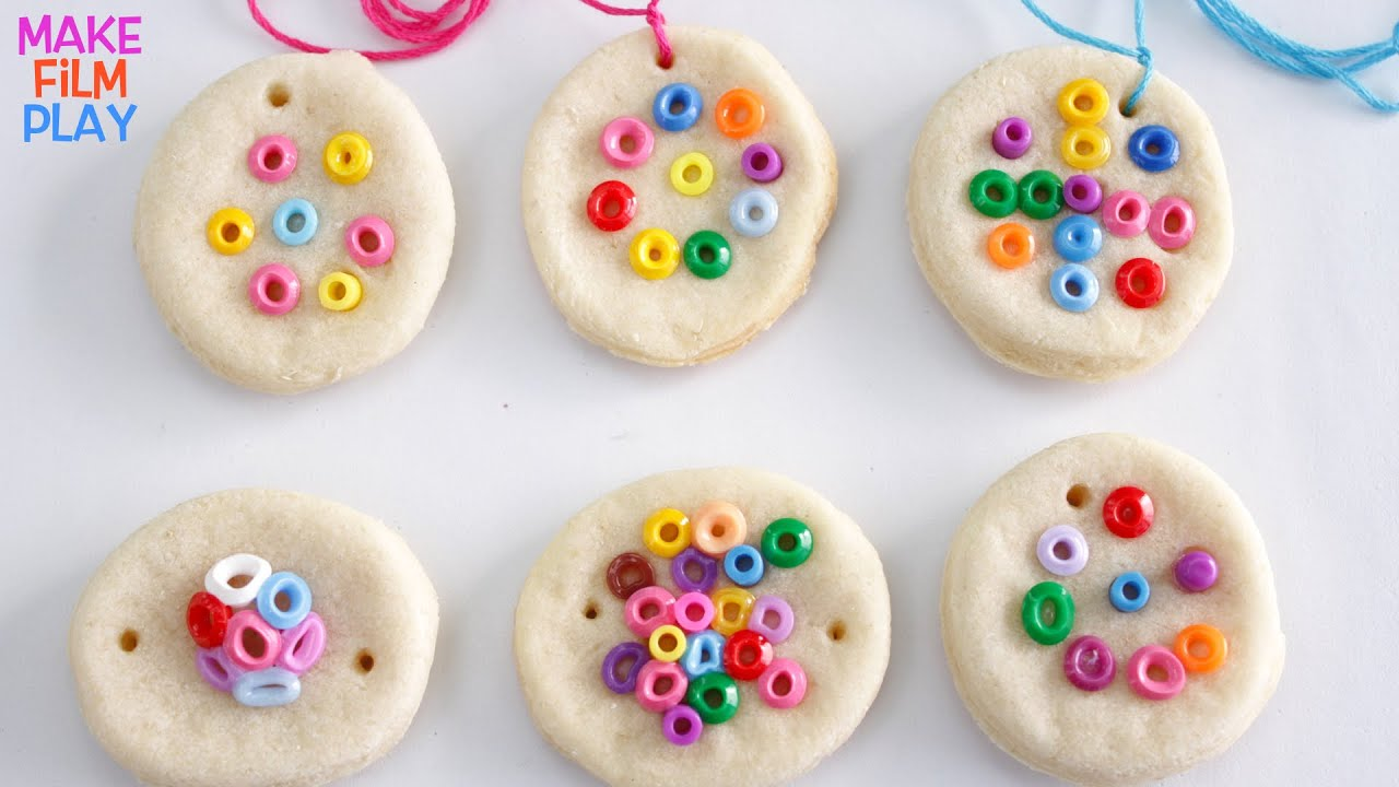 Salt Dough Jewelry - YouTube