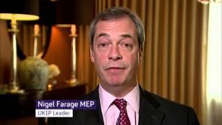 Nigel Farage on latest dire UK immigration numbers - Feb 2015