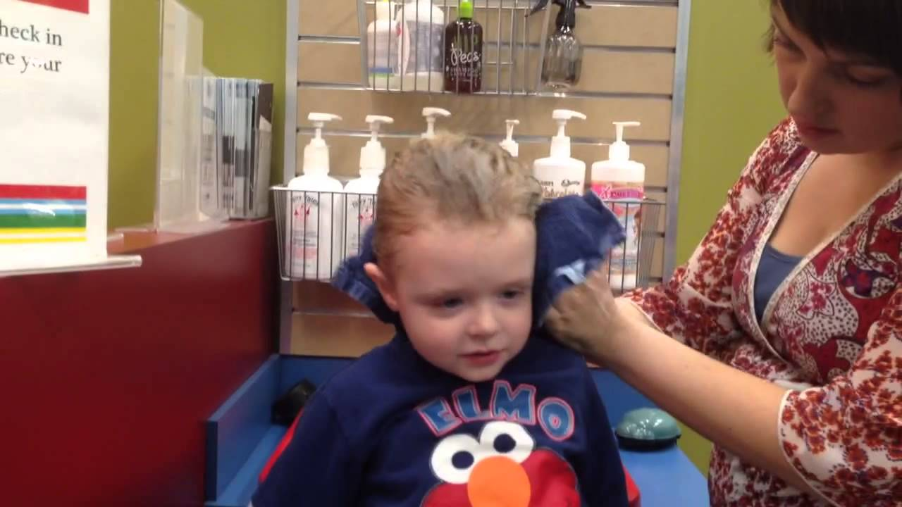 First Salon Shampoo For First Haircut Youtube